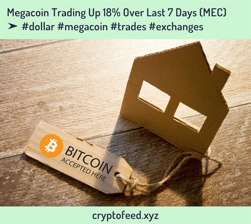 megacoin-trading-up-18%-over-last-7-days-(mec)