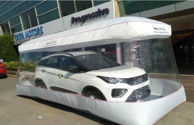 Tata Tiago, Altroz, Nexon And Others Now Delivered In Safety Bubbles