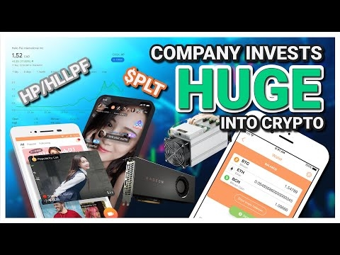 A Social Media Livestreaming company INVESTS HUGE into Bitcoin Mining !!   Coin Crypto News