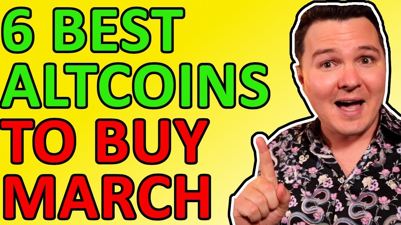 Crypto Trader Lark Davis Lists Top Six Altcoins To Buy in March