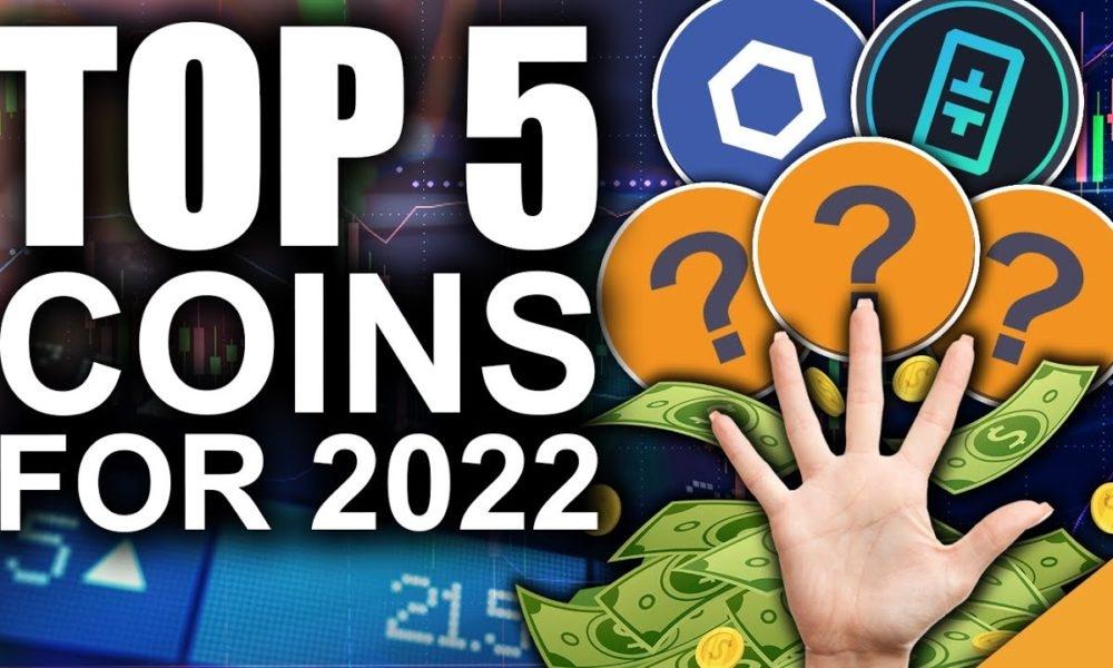 TOP 5 des crypto-monnaies pour 2022 (Prédictions Altcoin LES PLUS PREMIÈRES !)