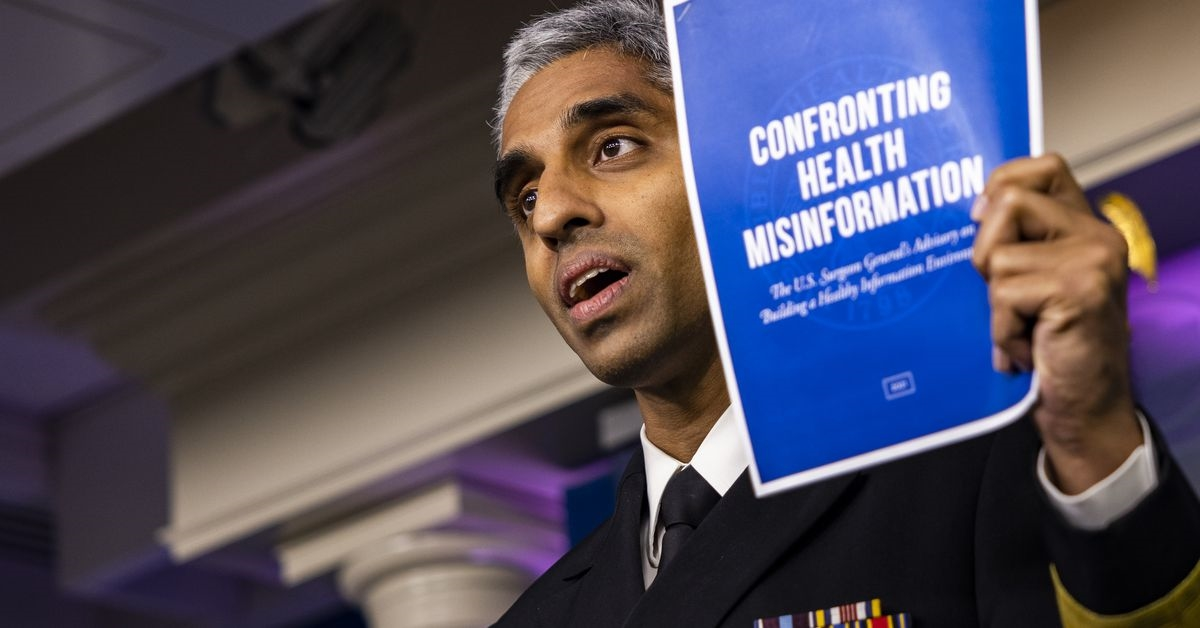 Surgeon general: Misinformation on Facebook, Twitter, and YouTube is a public health threat