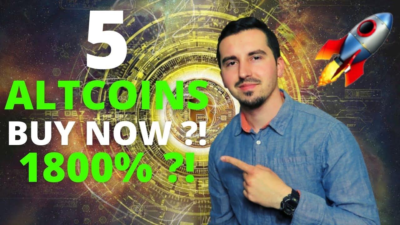 2021 年 9 月即将爆发的 5 大山寨币🚀 现在最好的加密货币 1800%?!加密新闻ATH?!😱