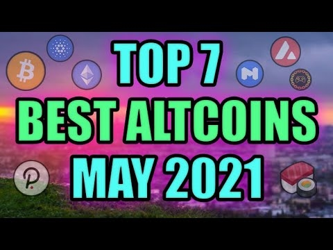Top 7 Altcoins Gems (POTENCIAL INSANO) Fazendo Notícias sobre Criptomoeda! Melhor investimento em criptografia MAIO 2021?