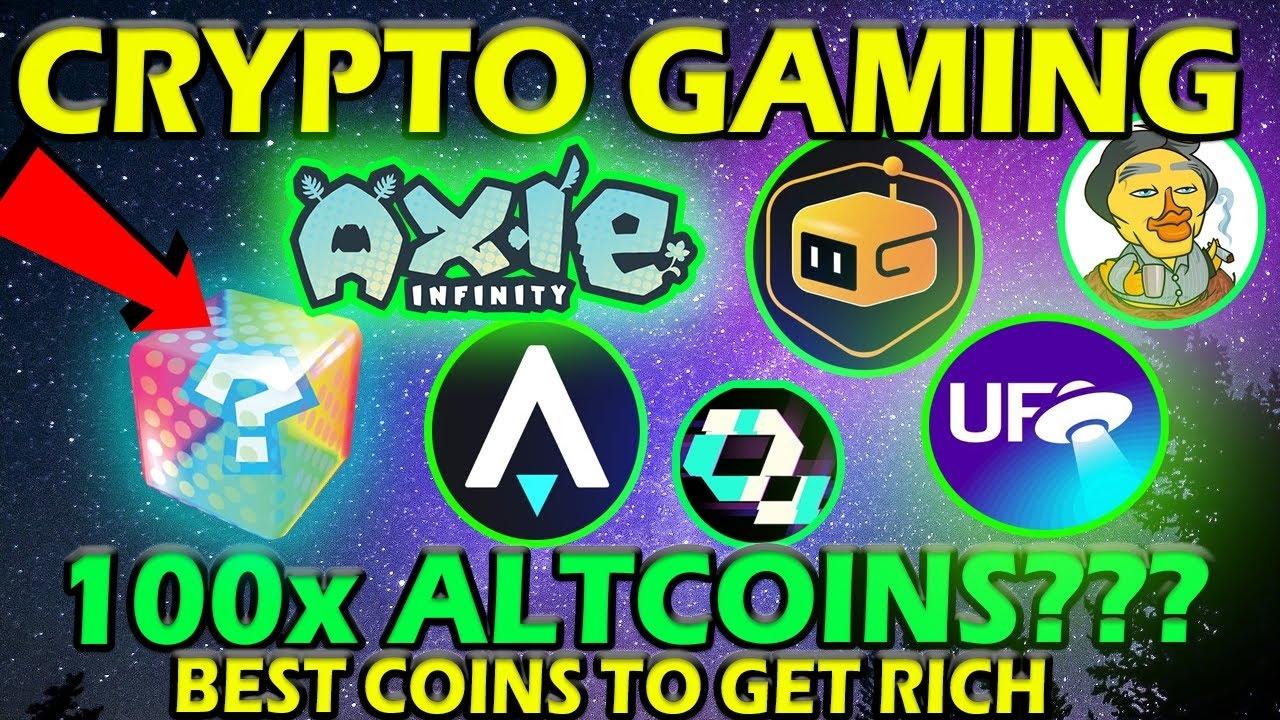Nouveaux 6 meilleurs ALTCOINS CRYPTO GAMING à surveiller en 2021 !!! (100x ALTCOINS ???) LES MEILLEURES PIÈCES DE CRYPTO GAMING !